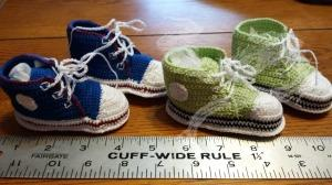 Baby booties - baby shower gift