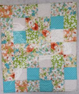 Carseat quilt - baby shower gift