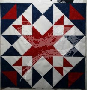This one and the next are what I call 'fraternal twin' quilt tops. Meaning, they were cut out at the same time.