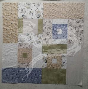 I like the fabrics, but I really don't like the pattern. This one will find its way to a different home.