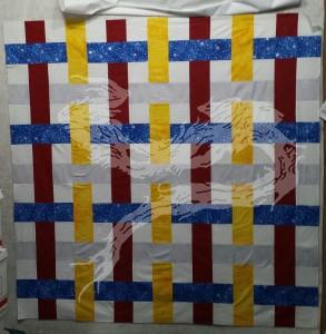 I can, honestly, say I've made a plaid quilt top.