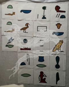 Second set of glyphs