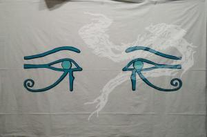 Eyes of Horus outlined