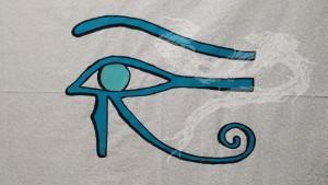 Eye of Horus outlined