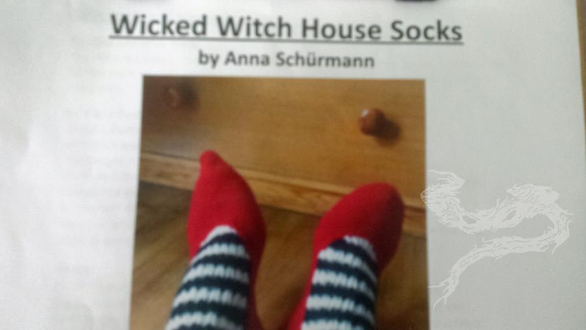 Wicked Witch House Socks